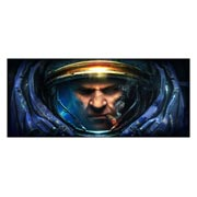 Неформатный постер по StarCraft